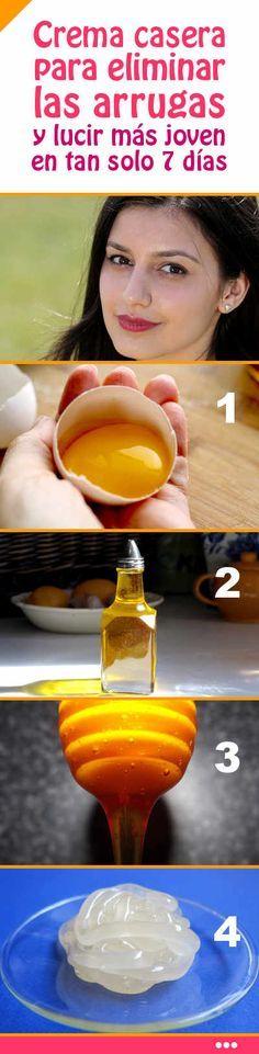 Receta milagrosa. Crema casera para eliminar las arrugas y lucir más joven en tan solo 7 días