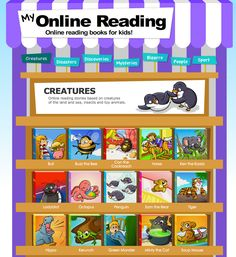 FREE Online books for beginning readers!