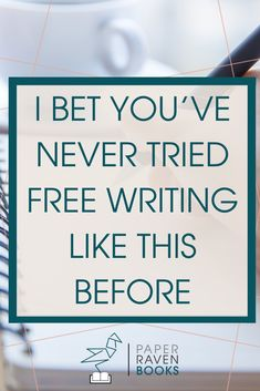 This is free writing like you've never done it before. Learn how to use free writing to generate your best ideas, writing, and content ever! This type of free writing can make you a better writer. #freewriting #writingtips