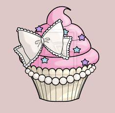 Cupcake tattoo by Lezzy-cat.deviantart.com on @deviantART
