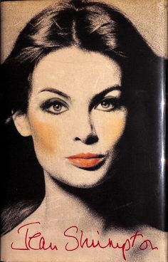 Fab (191) pp autobiography by Jean Shrimpton, international model extraordinaire…