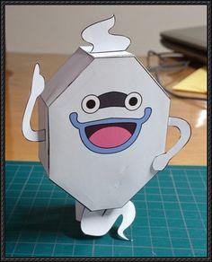 Yo-Kai Watch - Whisper Free Paper Toy Download
