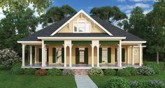 Country Cottage House Plan with 1516 Square Feet and 2 Bedrooms from Dream Home Source | House Plan Code DHSW076451