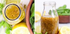 Domowy sos do sałatki greckiej zamknięty w buteleczce - ekspresowy