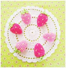 pink rose crochet doily - Google Search