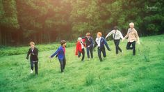 BTS- a monster, a cookie, an alien, a princess, a horse, swaggy suga, and the jamless