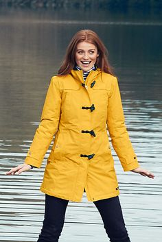 Longer Length Fleece Lined Waterproof Coat | Women&39s waterproof