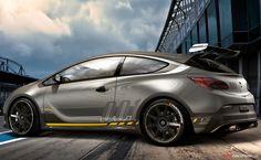 Vauxhall Astra VXR Black Series GTE Touring Car