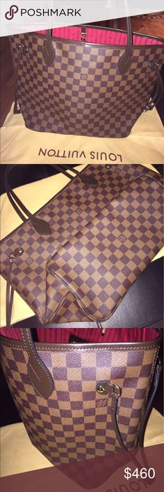 Louis vuitton neverfull mm damier ebene Used bag in great condition ! No flaws Louis Vuitton Bags Shoulder Bags