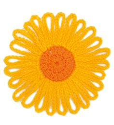 Free Crochet Flower Patterns   myLifetime.com - Shown Here: Sunny Flower ~k8~