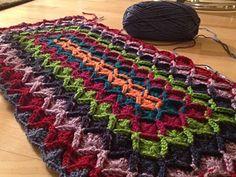 wool eater blanket #crochet