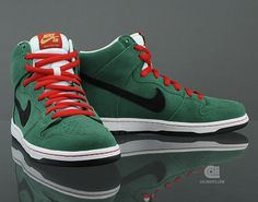 Nike SB Dunk High 'Beer Bottle Pack' – Heineken