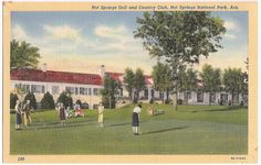 Vintage Hot Springs Golf and Country Club, Arkansas golfing scene