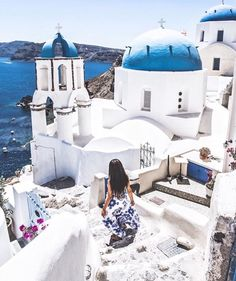 The Places Youll Go, Places To Go, Santorini Greece, Mykonos, Greece Travel, Greece Trip, Beautiful Places To Travel, Island Resort, Travel Pictures