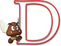 Alfabeto Mario Bros..D
