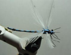 Fly Tying Nation: Foam Nation - foam fly pattern damsel fly.