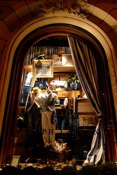 Ralph Lauren store in Paris boulevard Saint Germain