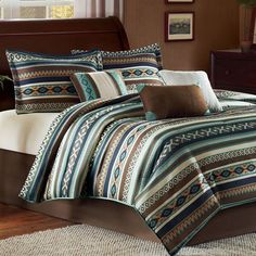 Harley Bed Set Multi Warm