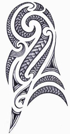 polynesian-design-for-half-sleeve-tattoo.jpg (315×600)