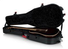 TSA Series ATA Molded Polyethylene Guitar Case for Dreadnought Acoustic Guitars