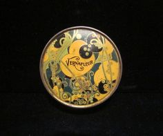 Vintage Tin Powder Tin Vernafleur 1930's Powder Tin Face Powder Art Nouveau Antique Beauty