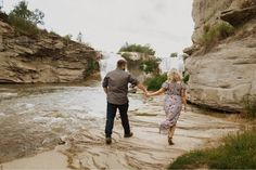 Engagement Photos at Lundbreck Falls in Crowsnest Pass with the couples' dogs in the pictures. Photos by Havilah Heger Photography Banff National Park, National Parks, How Beautiful, Beautiful Places, My Favorite Part, Engagement Shoots, I Love Dogs, Big Day, Wedding Photos