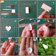 Calla Lily photo tutorial by Quilling Owl Neli Quilling, Quilling Videos, Quilling Comb, Quilling Craft, Quilling Techniques, Quilling Patterns, Quilling Jewelry, Rose Tutorial, Amor