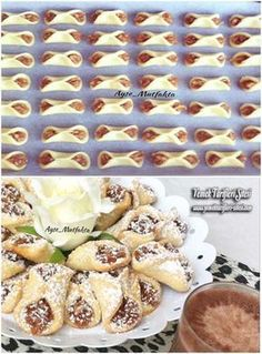 Apple Cookies Recipe – # apple # cookies – Sweet World Ideas Apple Recipes, Baking Recipes, Cookie Recipes, My Favorite Food, Favorite Recipes, Bread Shaping, Apple Cookies, Food Decoration, Turkish Recipes