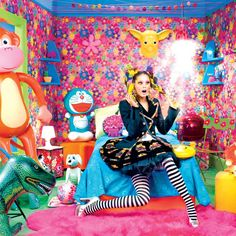 i love this crazy colorful room, amazing shoot!