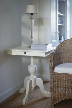 Wine Table Square cream 60 x 60 cm Riviera Maison 670400 | Eettafels / Dining Tables Riviera Maison | Jolijt