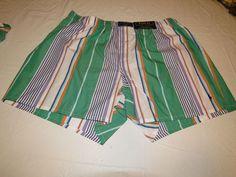 Polo Ralph Lauren underwear men's lounge classic fit boxer shorts logo L striped #PoloRalphLauren #Boxershorts