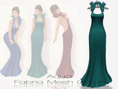 !Rebel Hope Designs - Fabria Mesh Gown