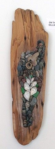 On The Beach by Gillian Swanink ~ Maplestone Gallery ~ Contemporary Mosaic Art