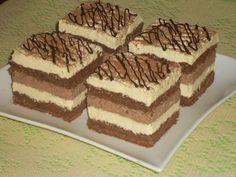 - Przekładaniec z masą czekoladową i kokosową Delicious Desserts, Yummy Food, Cake Bars, Polish Recipes, Homemade Cakes, Sugar Cookies, Cake Recipes, Sweet Tooth, Food And Drink