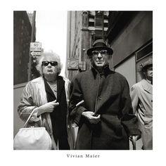 Vivian Maier Couple 30x30cm Print