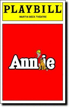 Annie - it's a must.  Of course, I can also still sing every song in it.  Yes, I was fixated on musicals growing up.