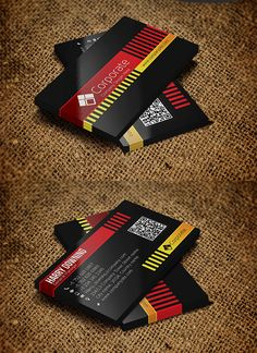 Corporate Business Card #businesscards #businesscardsdesign