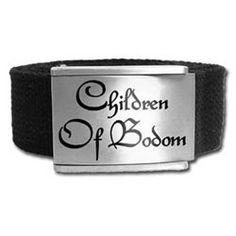 【チルドレン オブ ボドム】 ベルト・バックル CHILDREN OF BODOM-LOGO 問屋に替わる卸売・仕入れサイト スーパーデリバリー