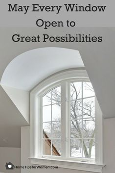 Creating possibilities is how we enjoy good mental and physical health and who doesn't want that for their family? Home Hacks, Improve Yourself, Sweet Home, Windows, Health, Salud, House Beautiful, Health Care, Household Tips
