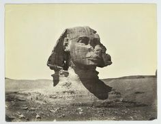Sphinx at Gizeh 1870