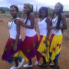 Image result for tsonga traditional dresses Tsonga Traditional Dresses, Traditional Wedding Dresses, African Print Dresses, African Dress, African Beauty, African Fashion, Black Women Hairstyles, Wedding Attire, Dress Up
