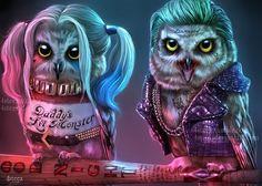 Joker / Harley Owls
