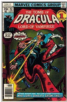 TOMB OF DRACULA 62 VF Jan. 1978 @ niftywarehouse.com #NiftyWarehouse #Dracula #Vampires #ClassicHorrorMovies #Horror #Movies #Halloween #Vampire