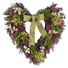 "Found it at Wayfair - 16"" Bliss Garden Heart Wreath"