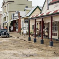 Tourists roll into Stanley after shoot for Hollywood film starring Michael Fassbender, Rachel Weisz wraps up