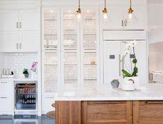 Tile Backed Cabinets - Interior Design Inspiration | Eva Designs