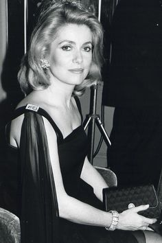 Deneuve: A Style Icon Through the Years In honor of Catherine Denevue's birthday, we look at her perfect Parisian style over the years.In honor of Catherine Denevue's birthday, we look at her perfect Parisian style over the years. Catherine Deneuve, Christian Vadim, Harpers Bazaar, Emmanuelle Béart, Star Francaise, Vanessa Redgrave, Isabella Rossellini, Moda Vintage, Glamour