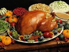 roast turkey dinner - this is my favorite dinner