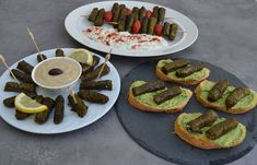 cretangastronomy.gr Dressing, Avocado Toast, Dips, Tacos, Appetizers, Mexican, Breakfast, Ethnic Recipes, Food