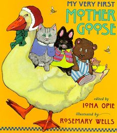 My Very First Mother Goose by Iona Opie https://www.amazon.co.uk/dp/0744544009/ref=cm_sw_r_pi_dp_DzRAxbJT0T5SP